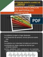 Antecedentes Historicos de Los Materiales Sinteticos