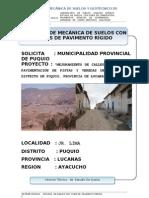 2.- Inf Veredas y Pistas Jr. Lima - Puquio