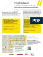 Mid-City Rapid Bus Open House