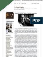 (Los papeles de Don Cógito_ El adiós a Heidegger _Sobre la filosofía y la barbarie)