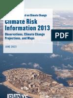 Npcc Climate Risk Information 2013 Report