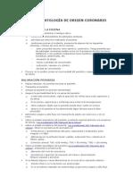 POSIBLE PATOLOGÍA DE ORIGEN CORONARIO