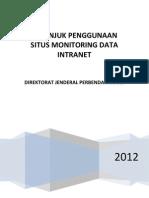 Petunjuk Penggunaan Intranet 2012