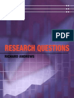 Andrews 2003 Research Questions