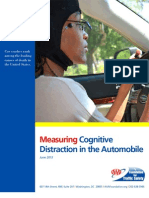 Measuring Cognitive Distractions FINAL