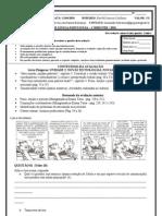 2 Avaliacao de Portugues 8 Serie 1 Bimestre