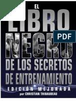 Thibaudeau Christian - El Libro Negro de Los Secretos de Entrenamiento
