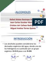 Expo. de Quimica-Alcoholes