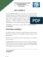 ELECTRÓNICA BÁSICA - PARTE 1