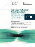 Addressing the Needs of Multisystem Youth