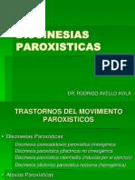 Diskinecias Paroxisticas - Dr. Rodrigo Avello