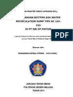 JUDUL laporan pkl