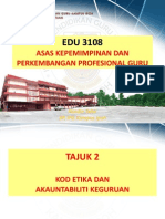 Tajuk 2 Kod Etika Dan Akauntabiliti Keguruan