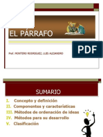el-pc3a1rrafo.ppt