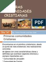 Primeras comunidades Cristianas