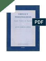 Virtud y Personalidad según Tomás de Aquino