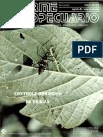 Informe Agropecuario - Controle Biologico de Pragas