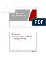 Microsoft PowerPoint - 5-OWF906206 Subscriber Data Managemen