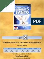 EBD - LIÇÃO 06