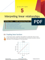 Chapter 5 Interpreting Linear Relationships