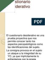 Cuestionario Desiderativo-Pruebas Proyectivas (1)