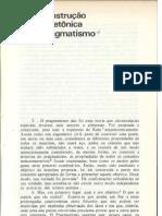 Charles Sanders Pierce | A Construção Arquitetônica Do Pragmatismo