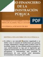 MANEJO FINANCIERO DEL ESTADO GRUPO No 5 -SECCIÓN B-04 DE MAYO