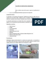 Purificacion de Compuestos Organicos