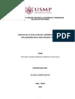 Análisis de la evolución del señoreaje e impuesto inflacionario en el Perú, período 1997-2006
