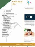 Diplomado Profesional en Masoterapia - NUTEAL
