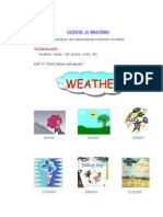 lesson 12 Weather
