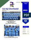 Cass Baseball Newsletter -- 2013 Season Yearbook