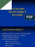 TATACARA MENYAMBUT TETAMU