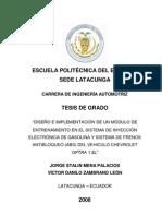 Sistema de Inyeccion Electronico de Gasolina Optra (TESIS)