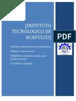 Unidad-2 Diseno de ejes DISEÑO ELEMENTOS DE MAQUINA