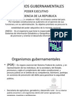 ORGANIZMOS GUBERNAMENTALES.ppt