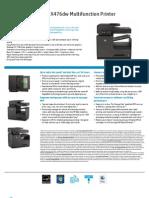CN461A HP Officejet Pro X476dw MFP