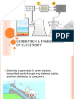 3.5generation & Transmission of Electricity