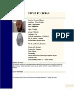 Ficha Policial