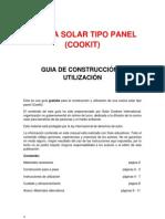 Construir Cocina Solar Panel Cookit