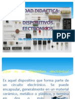 DISPOSITIVOS ELECTRONICOS - RESISTENCIAS
