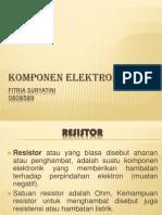 Komponen Elektronika