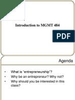 Session 2 - Fundamentals of Entrepreneurship