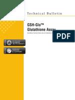GSH-Glo Glutathione Assay Protocol