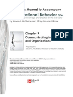Organizational Behavior Chp 9