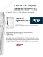 Organizational Behavior Chp 15