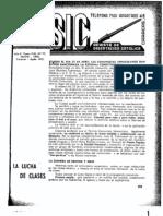 La Lucha de Clases - Editorial Revista SIC Nº 75 1945[1]