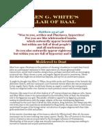 Ellen G. White's Pillar of Baal