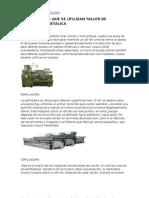 Herramienta y Equipo Utilizado en Estructura Metalica