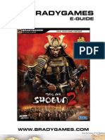 Shogun 2 - Total War BradyGames Official Guide